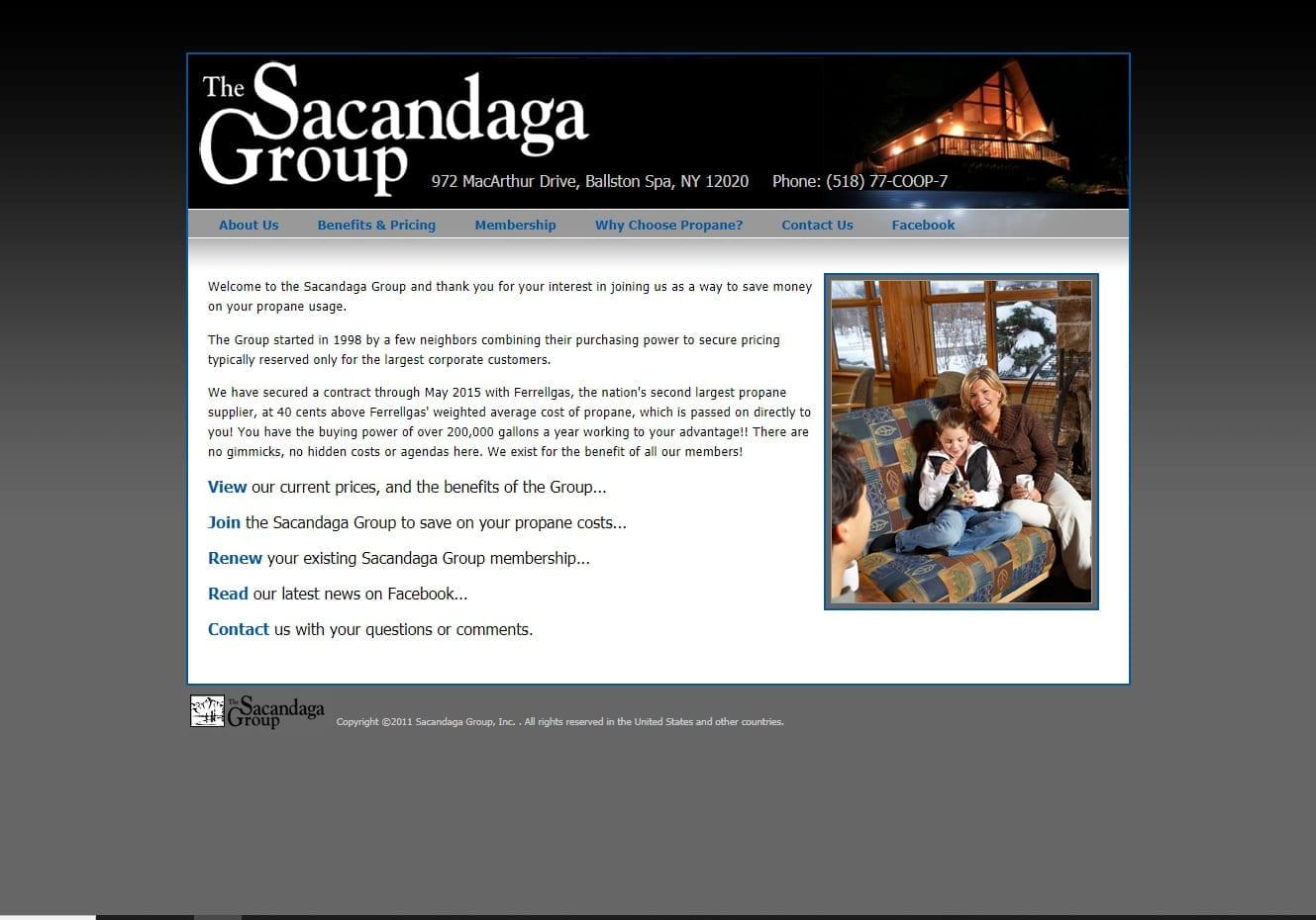 the Sacandaga Group