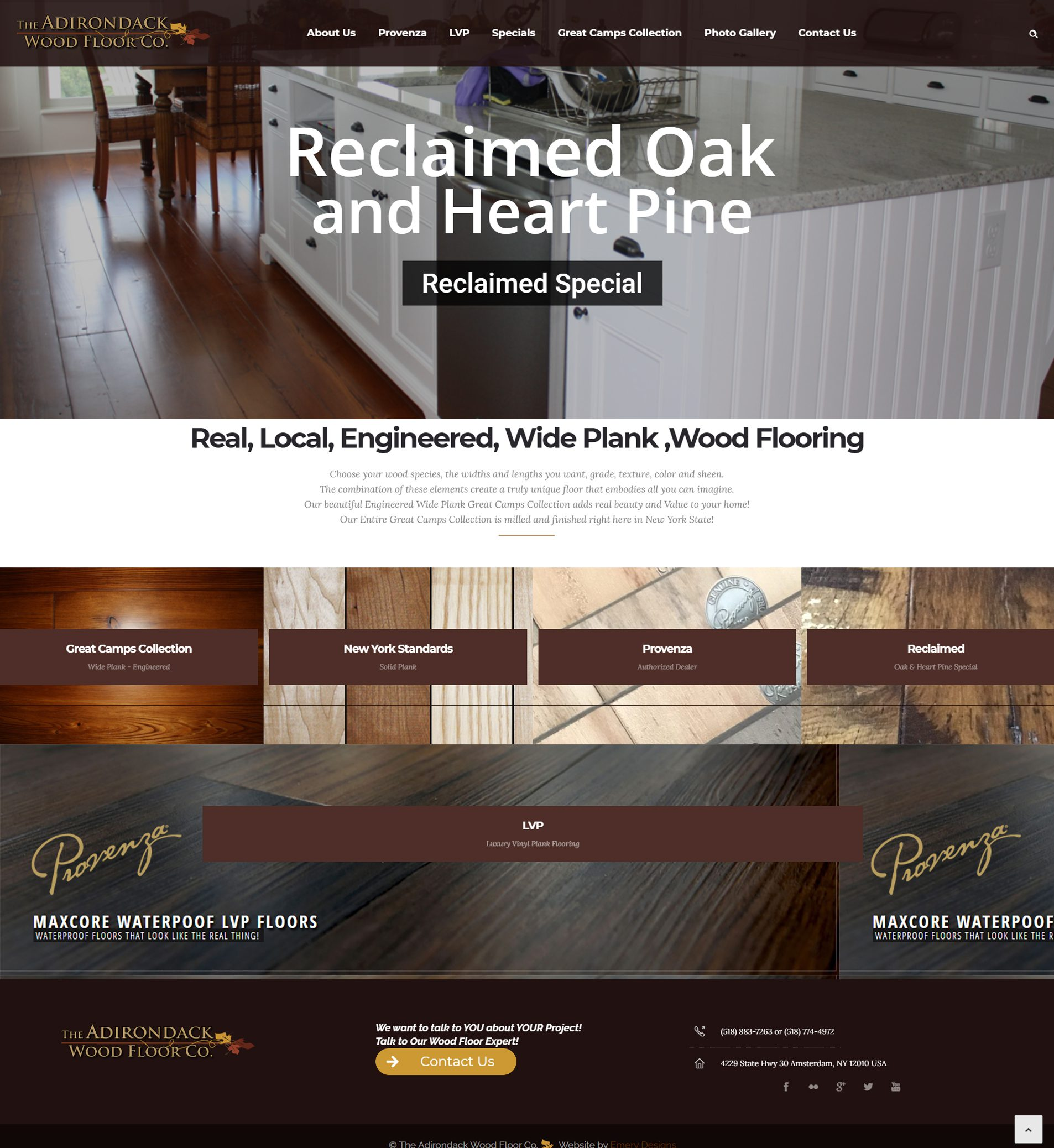 Adirondack Wood Floor Co.